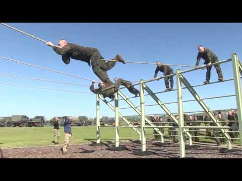 U.S. Marines Get A Taste of British Training!