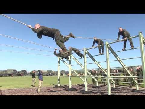 U.S. Marines Get A Taste Of British Training!