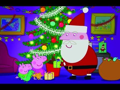 Peppa pig a visita do papai noel epis dio completo em - Peppa cochon noel ...
