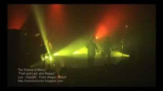 The Sisters of Mercy - First and Last and Always (Live)
