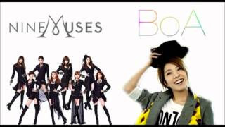 BoA & Nine Muses - News Woo Weekend [MASHUP]