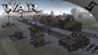 Polish Train Defense 1939 - Men of War: Assault Squad 2 - Valour Mod German Invasion of Poland thumbnail
