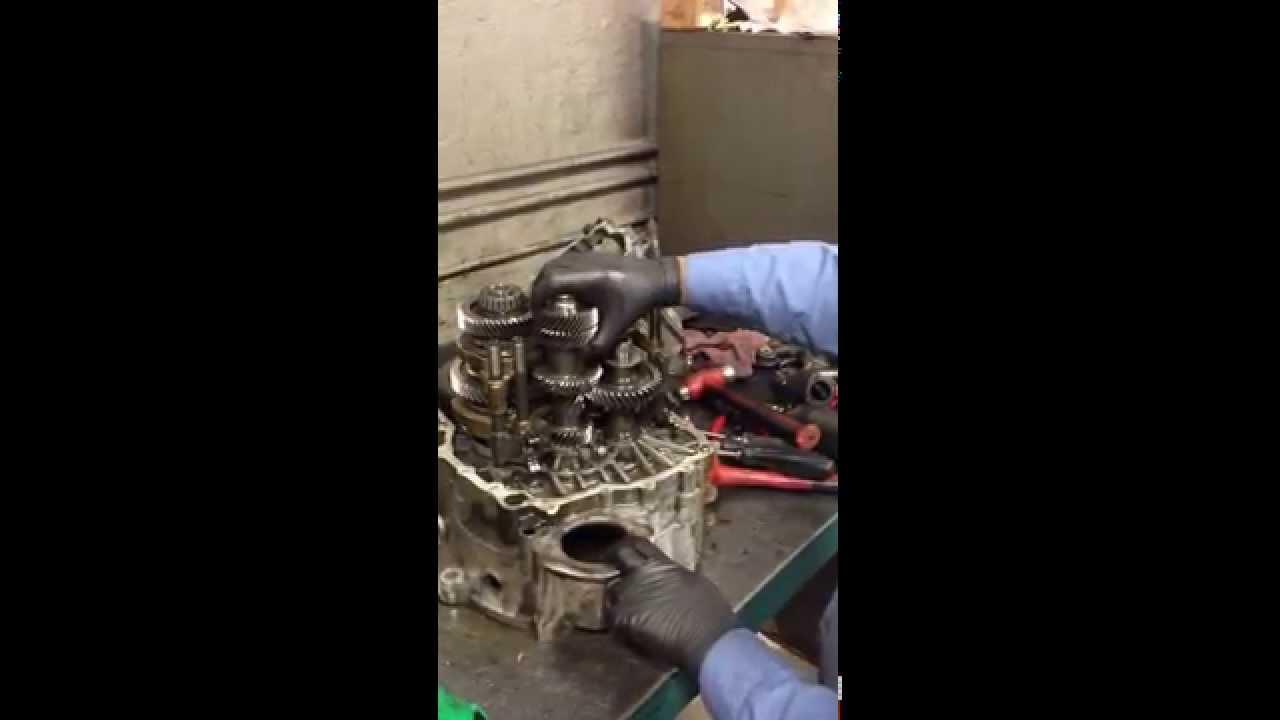 Volkswagen Manual 6 Speed Transmission Teardown