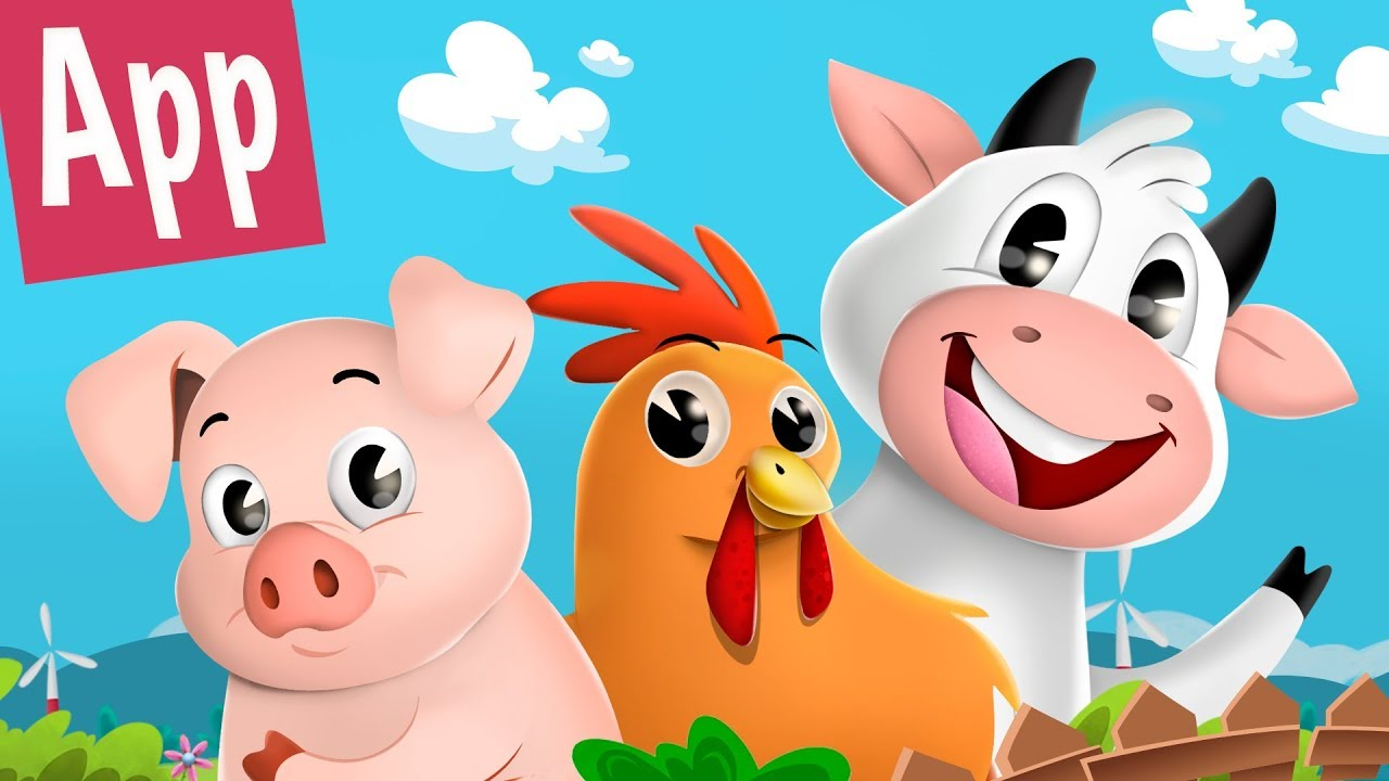 canciones infantiles de la granja youtube