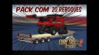 Euro Truck Simulator 2 | Pack de Reboques Brasileiros V.1.2 Para V.1.30.X