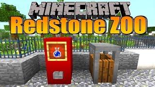 Raubtiergehege müssen sicher sein?! - Minecraft Redstone Zoo #26
