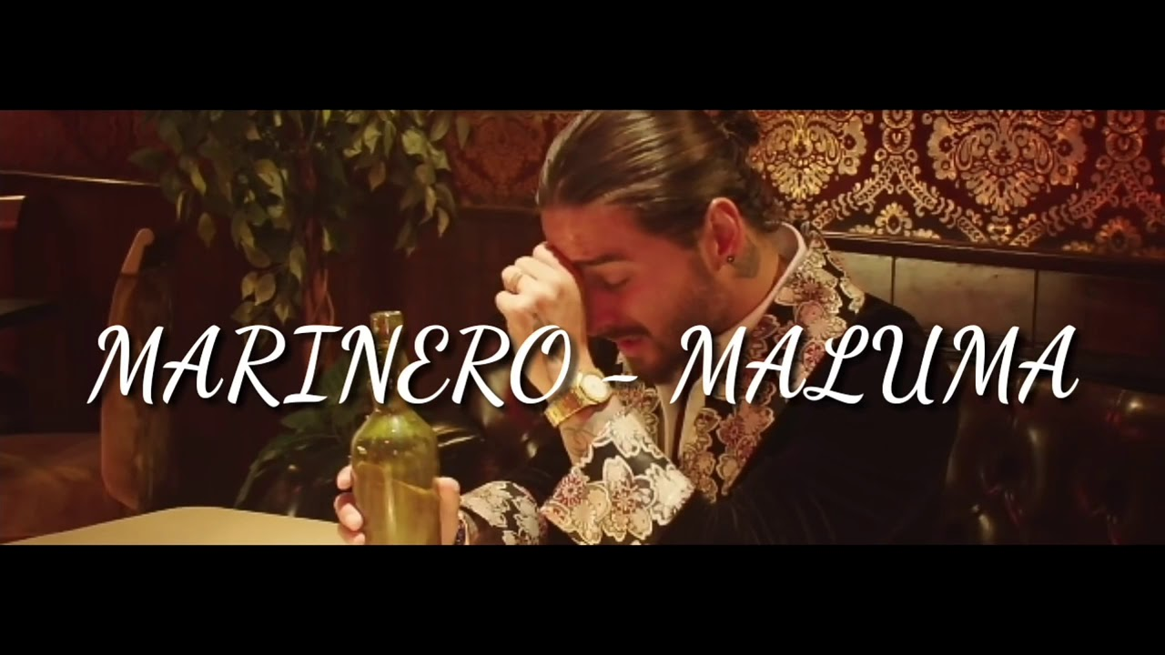 Maluma - Marinero (Video Lyric) #1