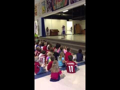 Malia Nelson 4th grade Talent Show