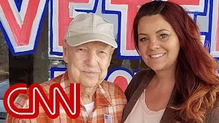 Couple 'adopts' 93-year-old veteran after his town burns to the ground