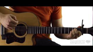 Lonely Tonight - Guitar Lesson and Tutorial - Blake Shelton ft. Ashley Monroe