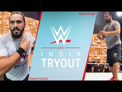 Rinku Singh & Saurav Gurjar recall their WWE Tryout 2017!