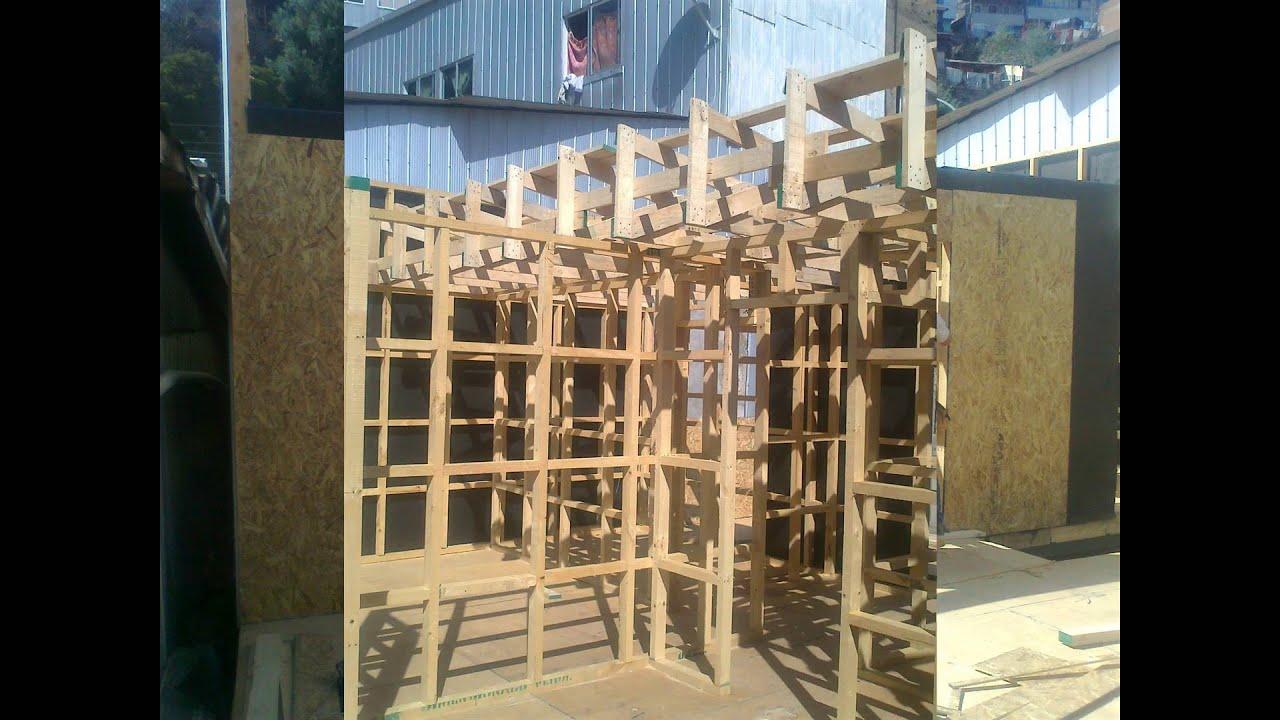 Construcci n de un segundo piso con madera youtube for Casas segundo piso de madera