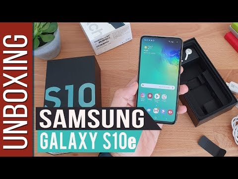 Samsung Galaxy S10e - Unboxing