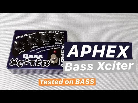 APHEX 1402 Bass Xciter - Tested on BASS