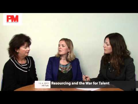 HR Talk: Resourcing and the War for Talent