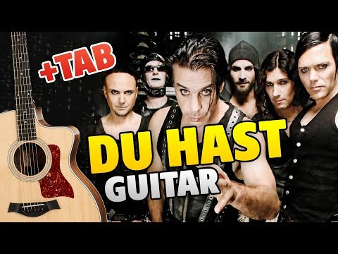 RAMMSTEIN – DU HAST (fingerstyle guitar cover, guitar tabs)