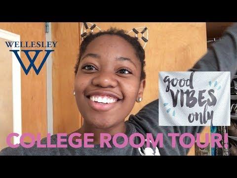 Wellesley College Room Tour + Update!