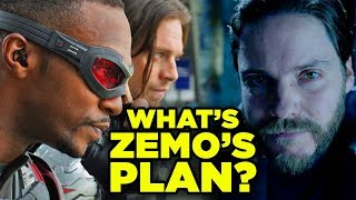 Falcon & Winter Soldier Plot Revealed! ZEMO'S RETURN Explained!