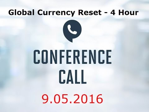 September 2016 Global Currency Reset LIVE Call - Iraqi Dinar RV News