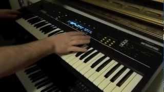 Ensoniq ESQ 1 Synthesizer Studio Demo