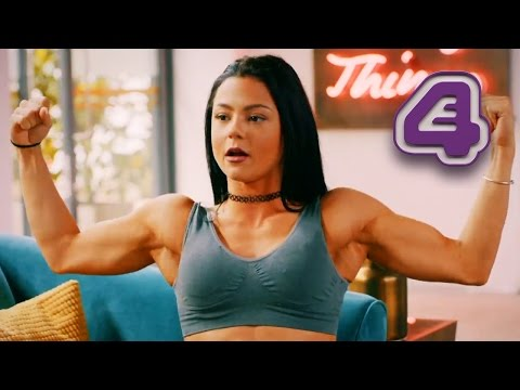 Skins' Katie Fitch Megan Prescott Needs A Body Builder Tan  Body Fixers