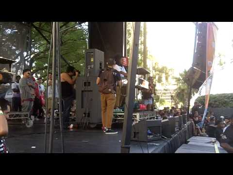 MUNCHI MAD DECENT BLOCK PARTY 2012 LOS ANGELES [HQ]