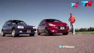 TN autos Peugeot 208 GTI - Peugeot 205 GTI