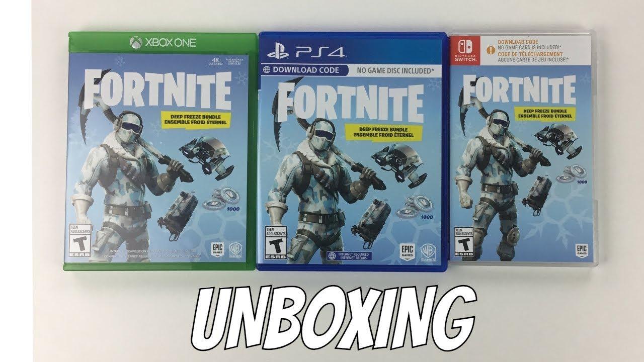 Deep Freeze Bundle PS4 Fortnite