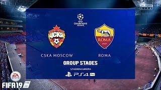 Download Video FIFA 19 | UCL 18/19 | CSKA Moscow Vs. Roma | 2nd Match MP3 3GP MP4