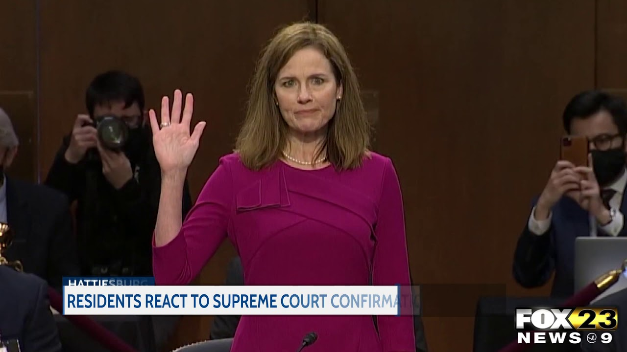 Residents react to Supreme Court confirmation hearing