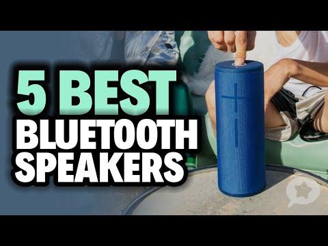 5 Best Bluetooth Speakers 2020