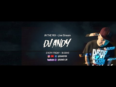 DJ ANDY - IN THE MIX - DRUM AND BASS -Live Stream Mix