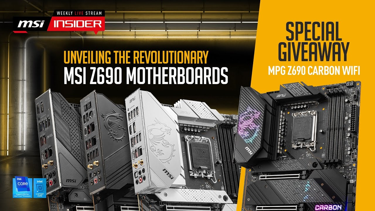 Download Unveiling the revolutionary next-gen MSI Motherboards
