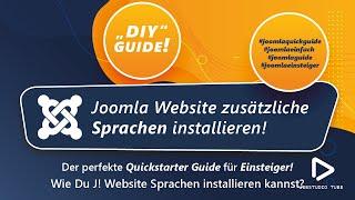 Joomla 3.0 Tutorial - Sprachen und Sprachpakete in Joomla 3 für Admin/Site installieren #16
