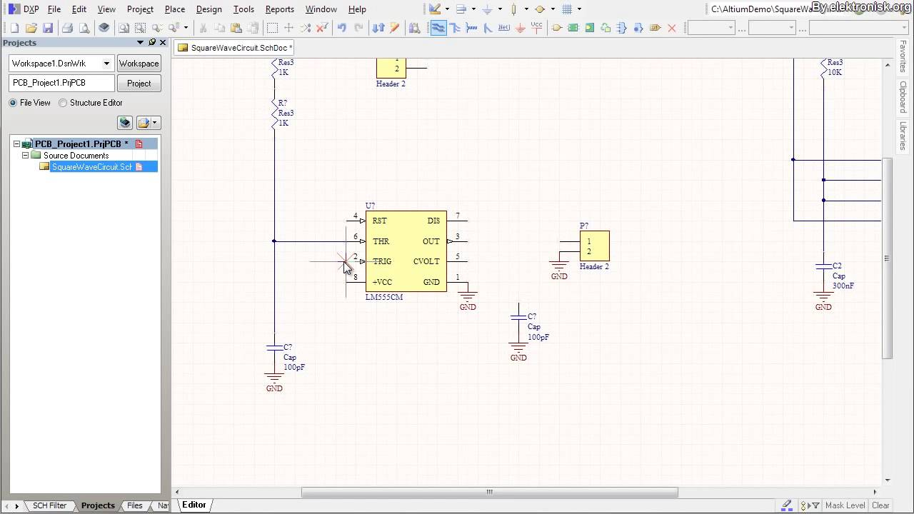 Altium Designer Tutorial Schematic capture and PCB layout 1of2 - YouTube