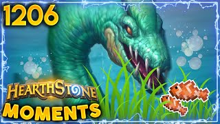 Who Wants To GO FISHING??? | Hearthstone Daily Moments Ep.1206