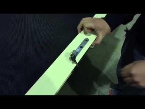 Lockwood 8654 Security Door Amp Fly Screen Lock Installation