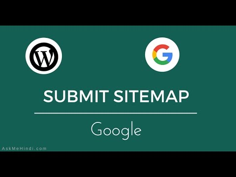 submit wordpress sitemap to google search console youtube
