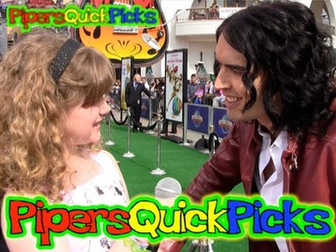 RUSSELL BRAND INTERVIEW & KATY PERRY QUESTION w TWEEN PRO REPORTER PIPER REESE at HOP! (PQP #043)