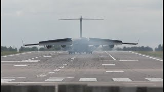 This allows many landings to be practiced in a short time Touch-and-go landing