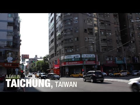 A Day in Taichung, Taiwan