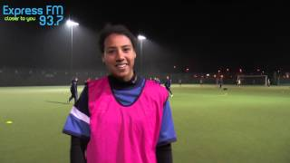 GRFSTV: Portsmouth FC Ladies Crossbar Challenge