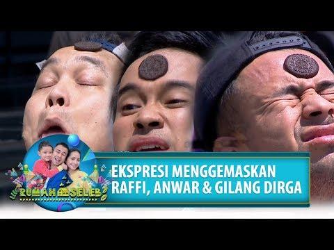 Ekspresi Lucu Raffi, Gilang, Anwar Saat Ikutan Lomba - Rumah Seleb (21/8) PART 4