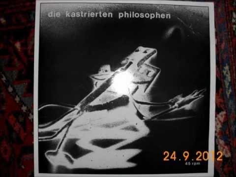 kastrierte philosophen, endzeitliebe