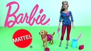 Кукла Барби и её собачка Таффи - Игрушки для девочек. Обзор Barbie(Обзор игрового набора для девочек кукла Барби (Barbie) с собачкой из серии