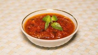 Томатный соус с базиликом из свежих помидоров в домашних условиях