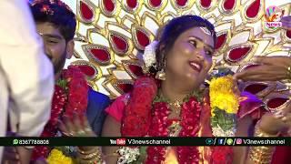Swathi Naidu Marriage Exclusive Video//V3 NEWS