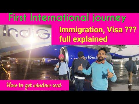 My First Flight Delhi To Bangkok II  Delhi To Thailand I Delhi To Bangkok
