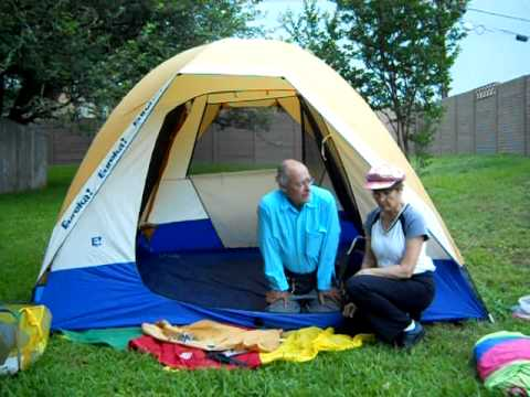 & Ten Minute Tent: Eureka N!ergy Tent 9 Tent Pitch Preview - YouTube