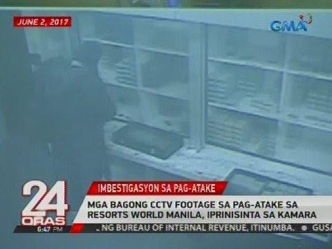 Mga bagong cctv footage sa pag-atake sa Resorts World Manila, iprinisinta sa kamara
